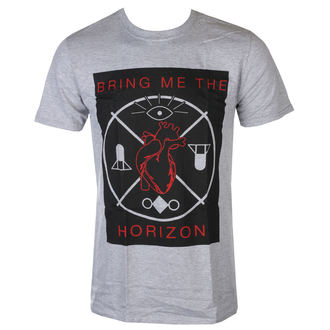 t-shirt metal men's Bring Me The Horizon - Heart & Symbols - ROCK OFF, ROCK OFF, Bring Me The Horizon