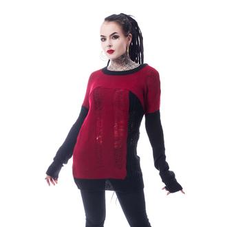 Women's jumper HEARTLESS - FRACTION - BLACK / RED, HEARTLESS
