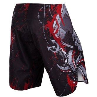 Boxing Shorts VENUM - Pirate - Black / Red, VENUM