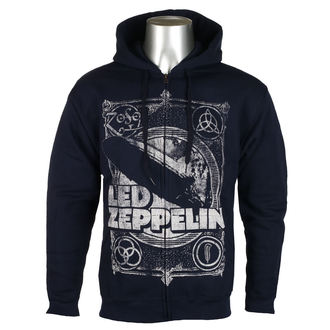 hoodie men's Led Zeppelin - Navy - NNM, NNM, Led Zeppelin