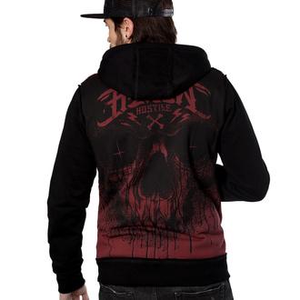 hoodie men's - CRIME GRIS - HYRAW - FW19-M26