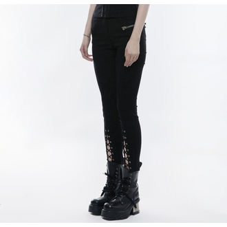 Women's Leggings PUNK RAVE - Girl of spades, PUNK RAVE