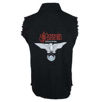Men's sleeveless shirt (vest) SAXON - WHEELS OF STEEL - RAZAMATAZ, RAZAMATAZ, Saxon