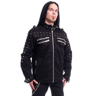 spring/fall jacket - GASTON - CHEMICAL BLACK, CHEMICAL BLACK