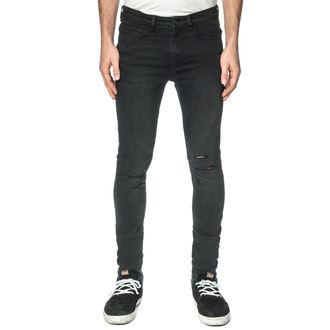 men's pants (jeans) GLOBE - G.04 Skinny - Beat Down Black, GLOBE