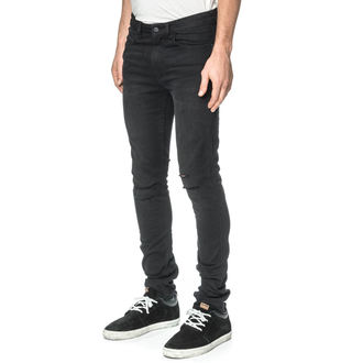 men's pants (jeans) GLOBE - G.04 Skinny - Beat Down Black, GLOBE