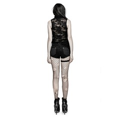 Women's Top PUNK RAVE - Decadance - T-453bk