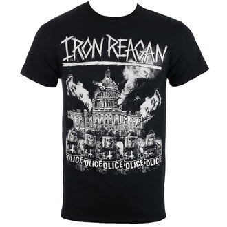 t-shirt metal men's Iron Reagan - Capital Police - Just Say Rock, Just Say Rock, Iron Reagan