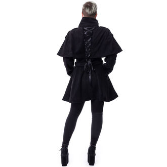 Coat women's Poizen Industries - GHOST TOWN - BLACK, POIZEN INDUSTRIES