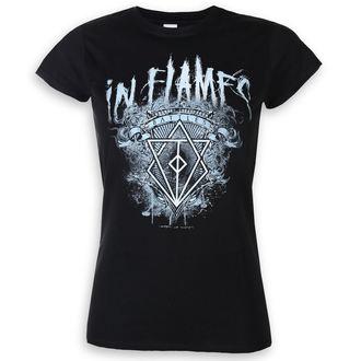 t-shirt metal women's In Flames - Battles - ROCK OFF - INFLATS06LB