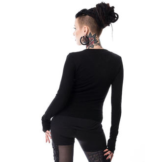 Women's sweater POIZEN INDUSTRIES - GRAB HER - BLACK, POIZEN INDUSTRIES