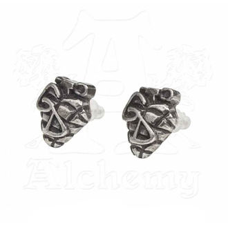 Earrings Green Day - Grenade - ALCHEMY GOTHIC, ALCHEMY GOTHIC, Green Day