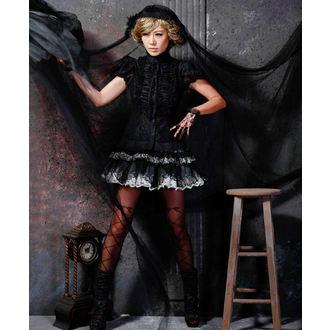 t-shirt gothic and punk - Cynthia black - PUNK RAVE, PUNK RAVE