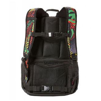 Backpack MEATFLY - BASEJUMPER I - Numb Rasta, MEATFLY