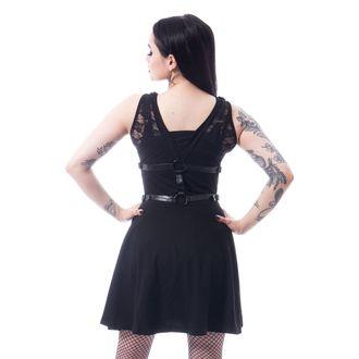 Women's dress POIZEN INDUSTRIES - BLACK, POIZEN INDUSTRIES