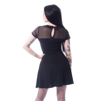 Women's dress HEARTLES - HEX WEDNESDAY - BLACK, HEARTLESS