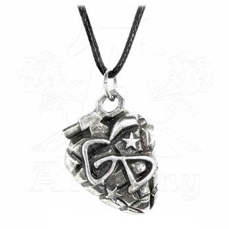 Pendant Necklace Green Day - Grenade - ALCHEMY GOTHIC, ALCHEMY GOTHIC, Green Day