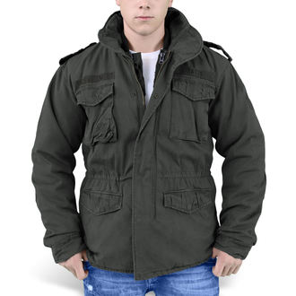 jacket men SURPLUS - Regiment M65 - BLACK - 20-2501-63