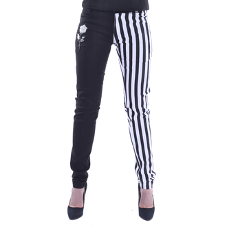 Trousers  Chemical black - IDA - WHITE / BLACK, CHEMICAL BLACK
