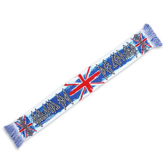 Scarf Def Leppard - Union Jack´s - LOW FREQUENCY, LOW FREQUENCY, Def Leppard