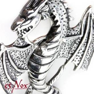 Pendant/ necklace ETNOX - Big Dragon, ETNOX