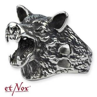 ring ETNOX - Wolf Head - SR1169