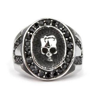 ring ETNOX - Crystal Skull, ETNOX