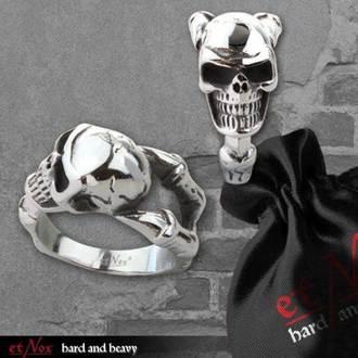 ring ETNOX - Skull - SR1403