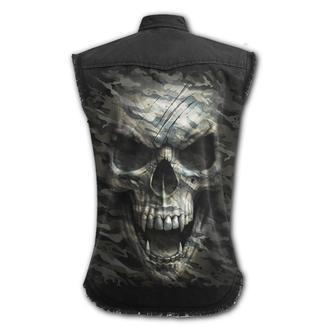 Men's sleeveless shirt/ vest SPIRAL - CAMO-SKULL, SPIRAL