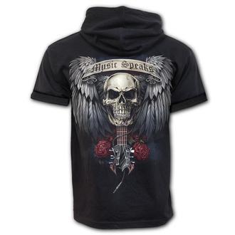 t-shirt men's - UNSPOKEN - SPIRAL - T160M470