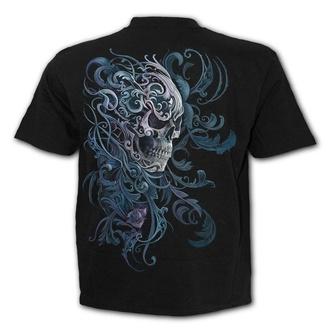 t-shirt men's - ROCOCO SKULL - SPIRAL - T162M101
