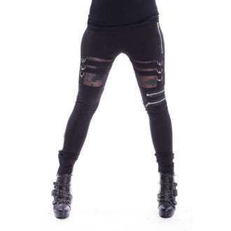 Women's Leggings Chemical Black - INKA - BLACK