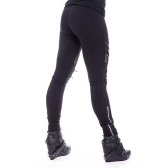 Women's Leggings Chemical Black - INKA - BLACK, CHEMICAL BLACK
