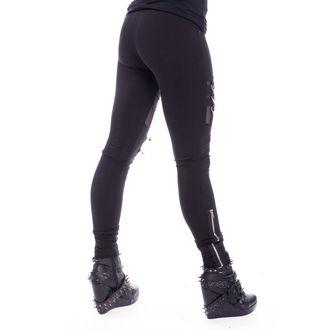 Women's Leggings Chemical Black - INKA - BLACK, CHEMICAL BLACK