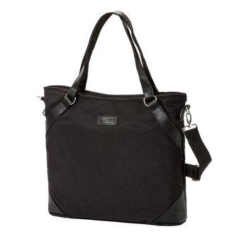 Handbag (bag) MEATFLY - INSANITY 3 - B - Heather Black, MEATFLY