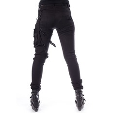 Trousers Women Heartless - ISAK - BLACK, HEARTLESS