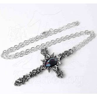 Necklace ALCHEMY GOTHIC - Ivy Cross, ALCHEMY GOTHIC