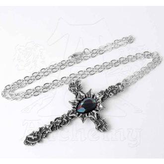 Necklace ALCHEMY GOTHIC - Ivy Cross, ALCHEMY GOTHIC
