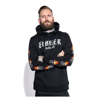 hoodie men's - Sinner - BLACK CRAFT, BLACK CRAFT