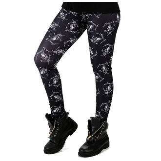 Leggings PAMELA MANN - Metallica - Black / White, PAMELA MANN, Metallica