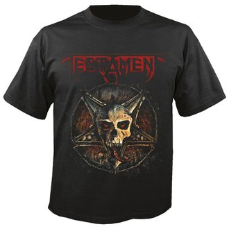 t-shirt metal men's Testament - First strike 2017 - NUCLEAR BLAST, NUCLEAR BLAST, Testament