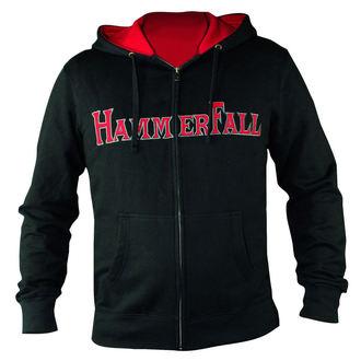 hoodie women's Hammerfall - Hammered DELUXE Girlie ZIP HOOD - NUCLEAR BLAST