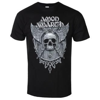 t-shirt metal men's Amon Amarth - GREY SKULL - PLASTIC HEAD - PH11896