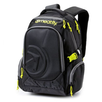 backpack MEATFLY - Blackbird - A - Black, MEATFLY