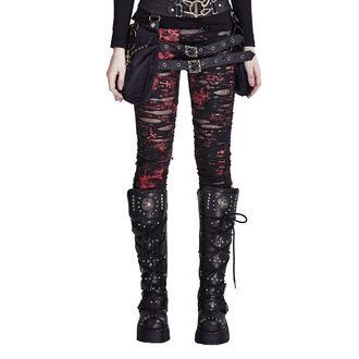Women's trousers (leggings) PUNK RAVE - Ripped, PUNK RAVE