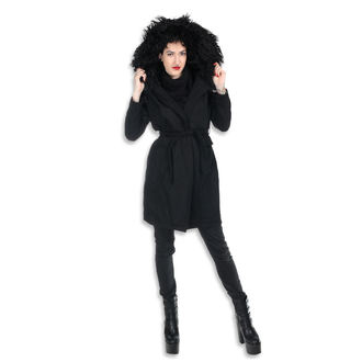 Coat women's KILLSTAR - SEVENTH SÉANCE - BLACK