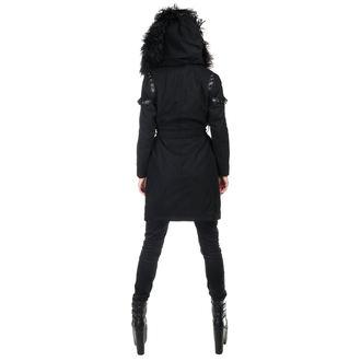 Coat women's KILLSTAR - SEVENTH SÉANCE - BLACK - K-JKT-F-2875