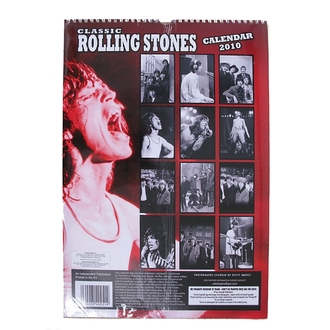calendar to year 2010, Rolling Stones