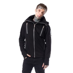 spring/fall jacket men's - KIERAN - CHEMICAL BLACK