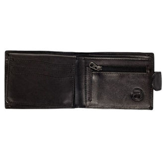 Wallet MEATFLY - Rikker - 1/26/55, A - Black Leather, MEATFLY